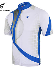 GETMOVING® Classic Personality Apparel Fashion Gorgeous Short Ssleeved Clothes + Wicking Bike Bbicycle Service+Blue