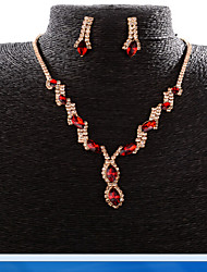 May Polly The new fashionable bride jewelry diamond necklace set