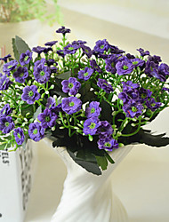High Quality Artificial Flowers for Home Decoration Bright Color Orchids Silk Flower for Wedding Bouquet