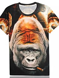 Women's High Quality Personality Summer Breathable 3D Style T-shirt—— The Gorilla