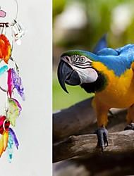 Pássaro Brinquedos de Pássaros Metal Plástico Multi Cores