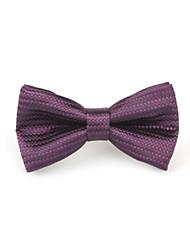Handmade Purple Bowtie For Pets