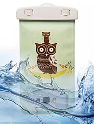 Patterns Owl Pattern Transparent Waterproof Touchscreen for Samsung Galaxy Note 4 / Note 3 / Note 2