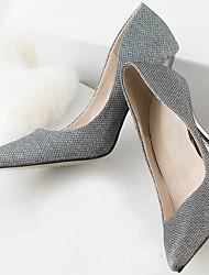 Zapatos de mujer Purpurina Tacón Stiletto Tacones Pumps/Tacones Vestido/Casual/Fiesta y Noche Gris