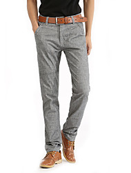 Men's linen trousers 8255