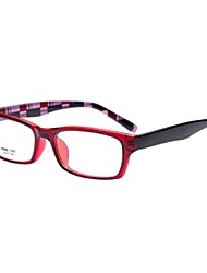 [lentilles] libres rectangle cerclées ordonnance de la mode des lunettes informatiques de TR-90