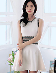 Women's Vintage/Sexy/Beach/Casual/Cute/Party/Plus Sizes  Sleeveless Above Knee Dress