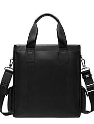moda de la moda x.bnj cuero genuino de alta calidad para los hombres maletines de cuero de diseño únicos dividir verticales