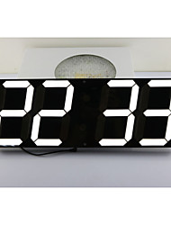CH KOSDA Large Big Jumbo LED Alarm Clock Wall LED Clock Oversize Countdown Timer Remote Control Snooze Date