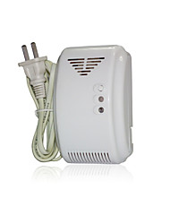 Muti-function Fire and Gas Detector, auto-check wireless gas leakage detector