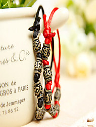 Couple Red Rope Transfer Bead Luck Can Adjust Bracelet