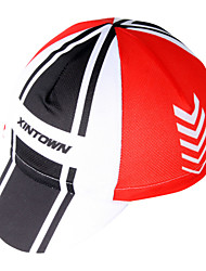 XINTOWN Unisex Red Sport Hats Breathable Limits Bacteria Detachable Cap Wicking Free Size Sports Cap