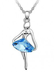 Crystal necklace Original Austrian import ms crystal pendant