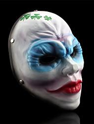 зарплаты 2 женщины бандиты клоун маски смолы для Хэллоуина костюм участника (1 шт)