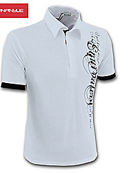 High Quality 2015 New Fashion V-Neck Short Sleeves T-Shirts Size M-4XL