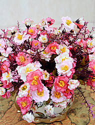 alta calidad de la flor artificial brillante color peonía flor de seda para la boda y decorativo