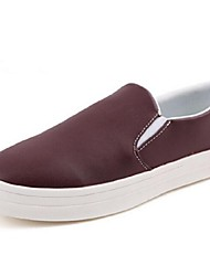 Men's Shoes Casual Loafers Black/White/Burgundy