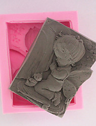 Little Angel Silicone Soap Mold