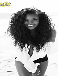 8A Brazilian Virgin Hair Natural Wave Glueless Full Lace Wigs With Baby Hair Lace Front Human Hair Wigs