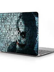 "Case for MacBook 12"" with Retina display Cartoon ABS Material The Joker Pattern Full--Body Protective Plastic Case"