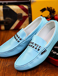 Men's Shoes Casual  Loafers Black/Blue/White/Orange