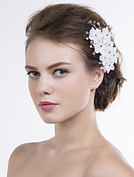 Women Organza Flowers With Multi-stone Wedding/Party Headpiece