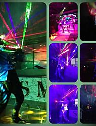 venta caliente guantes láser partido del laser guantes rgb demostración de la etapa llevó la danza dj del club