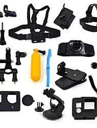 16-em-1 kit de acessórios para gopro hero4 3 + / 3 câmera ourspop K17 gp-