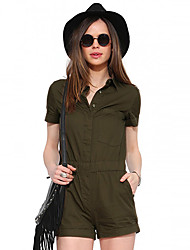 Women's American Apparel With Pocket Short Jumpsuits