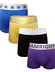Men's Cotton/Cotton Blends/Modal Boxers 4 pack Briefs