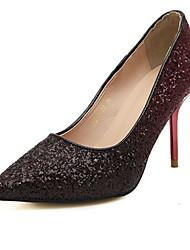 Women's Shoes  Stiletto Heel Heels Pumps/Heels Dress/Casual Silver/Gold/Burgundy