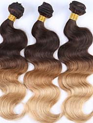 "3 Pcs/Lot+12""-26""+Malaysian (Italian) Virgin Hair+ color(natural black)+body wave.."