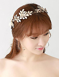 Gold Romantic Vintage Style Crystals Stone Wedding/Party Headpieces/Forehead Jewelry