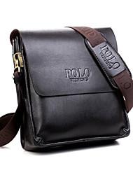 Men 's Cowhide Messenger Shoulder Bag