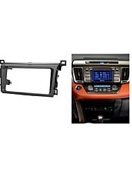 fascia radio de voiture pour Toyota RAV4 2013+ planche de bord autoradio stéréo installer ajustement kit de tableau de bord habillage dvd