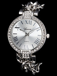 Ladies'/Women's Fashion Sparkle Alloy Quartz Bracelet Watch Cool Wrist Watches Unique Watches
