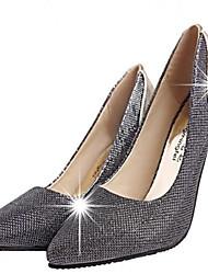 Mujer Zapatos de boda Tacones Tacones Boda/Fiesta y Noche Negro/Oro
