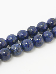 Beadia 39Cm/Str (Approx 48Pcs) Natural Blue Lapis Lazuli Beads 8mm Round Stone Loose Beads DIY Accessories