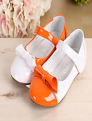 Girls' Shoes Casual Comfort Faux Leather Flats White