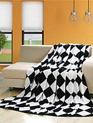 Hot Cheap Blankets Black White Blankets Fleece Throw Blankets on Sale