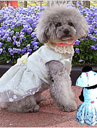 ABPET Lovely Dog's Wedding Dress