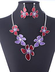 Muriel Women's Necklace Earrings Suit
