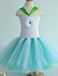 Vestidos ( Azul/Verde Claro/Rosa/Amarelo , Poliéster , Espetáculo ) - de Espetáculo - Crianças