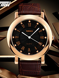SKMEI® Men's Dress Watch Classic Design Japanese Quartz Leather Strap