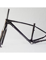 "MB-NT203+FK-NT23 Neasty Brand  Full Carbon Fiber Carbon Black 27.5er 650B MTB Frame and Fork 17""/19"""
