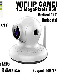 1.3MP HD Video Technology Pan/Tilt HD Intelligent Network Cameras 3.6mm Lens Day&Night Household Camera IP Camera
