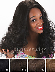 12''-26''7A Long Natural Curly Wigs Brazilian Virgin Human Hair Wigs Lace Front Wigs With Baby Hair For Black Women