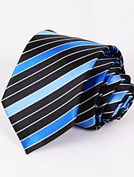 Cravates ( Bleu , Polyester ) Rayures