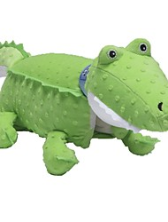 Stuffed Toys Zoobies Plush Green Mid Crocodile 40*20*18cm with blanket 135*87cm