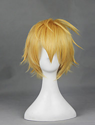 God Eater Yellow 30cm Cosplay Wigs